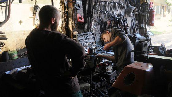 In der Werkstatt sicher arbeiten lernen