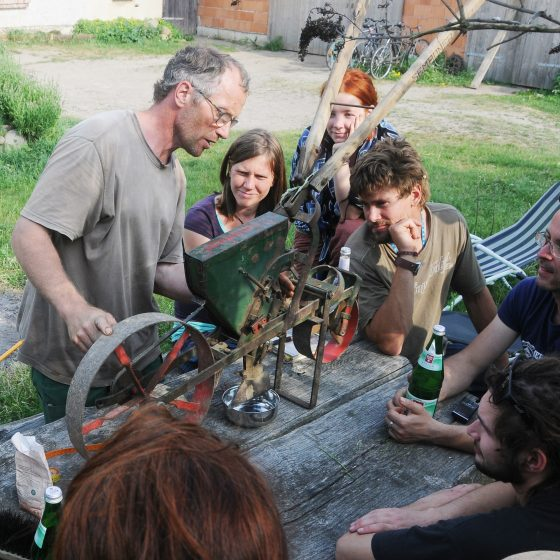 Gartenbautechnik kennenlernen
