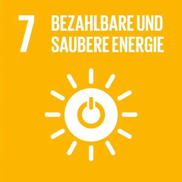 Ziele nachhaltige Entwicklung - Bezahlbare und saubere Energie